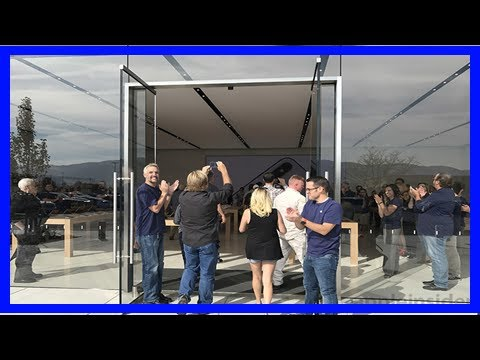 Breaking News | Relocated apple store opens for business in reno, nevada
