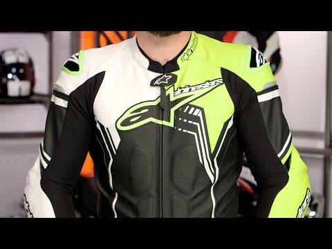 alpinestars atem leather race suit review from sportbik. Black Bedroom Furniture Sets. Home Design Ideas
