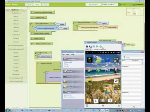 [HUN/Tutorial] - AppInventor [1.rész] - Android programozás - Magyarul