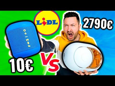 Enceinte LIDL 10€ vs Devialet 2790€ ! (belle surprise)