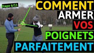 Incroyable : Les différents armements de poignets dans le swing de golf !