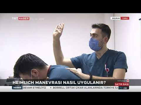 TRT HABER - HEIMLICH Manevrası Nedir Nasıl Yapılır ? Prof. Dr. Zeynep Gökcen Çak