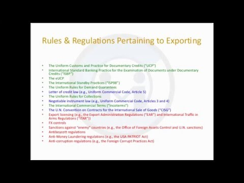 Webinar: Impact On Exporters Of Foreign Assets Control, Anti Money Laundering @Compliance Key