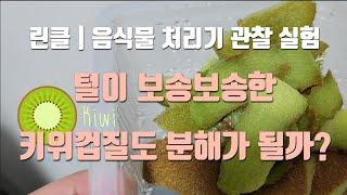 린클 프라임 | 음식물 처리기 관찰 영상 | 과일 껍질…