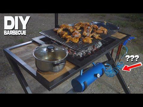 DIY Barbecue Grill