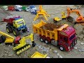 Trucks for children | Excavator for kids | Car toys | Songs for kids | Construction