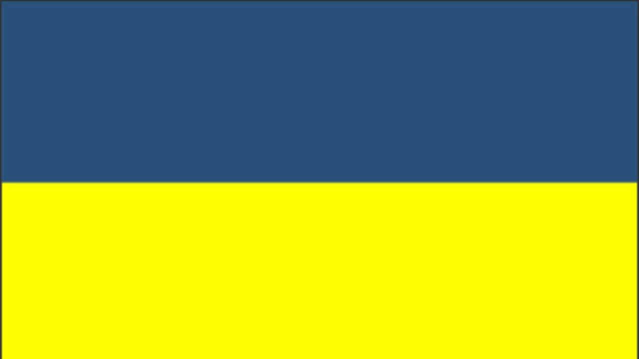 Ukraine Flag and Anthem - YouTube