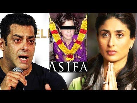 Salman और Kareena का Asifa Kathua Case पर Strong Reaction | Justice For Asifa