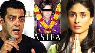 Salman और Kareena का Asifa Kathua Case ...
