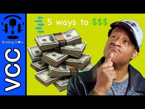 5 Ways to Make Money Singing