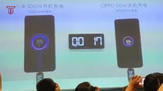 Xiaomi 30W & 100W Charging Speed Test