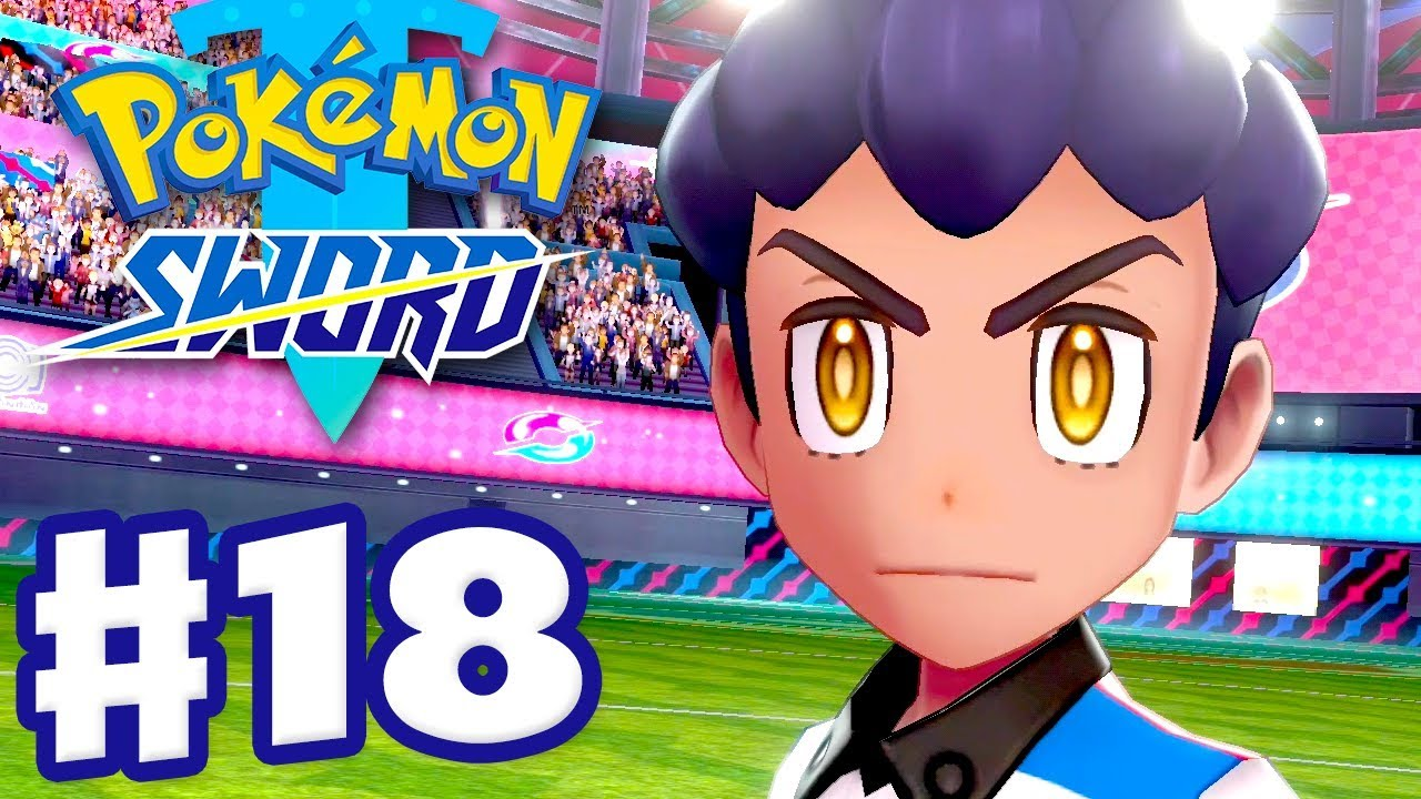 Championship Semifinals vs Marnie and Hop! - Pokemon Sword and Shield - Gameplay Walkthrough Part 18