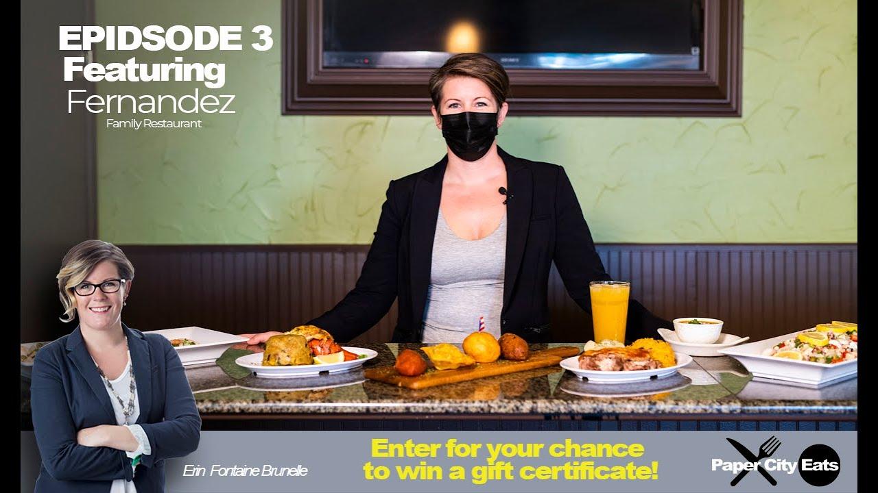 Paper City Eats: Fernandez Family Restaurant