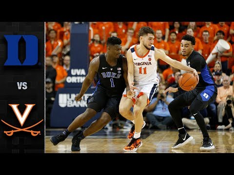 Duke vs. Virginia Basketball Highlights (2018-19)