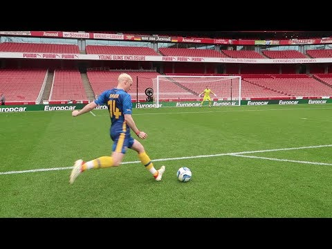 FREEKICKS VS ARSENAL!! AT THE EMIRATES STADIUM!