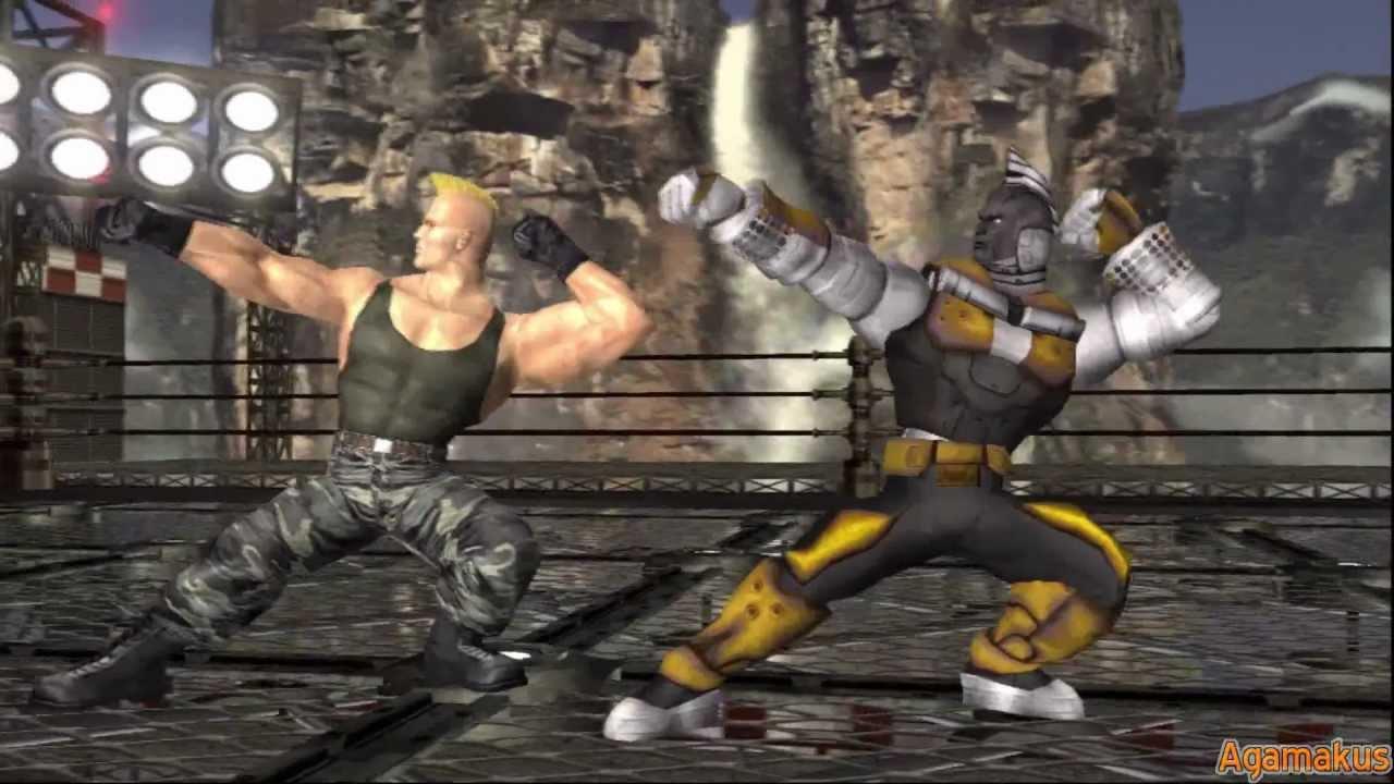 Tekken Hybrid Tekken Tag Tournament Hd Gun Jack Ending Hd 1080p Youtube