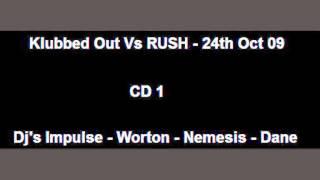 Klubbed Out Vs RUSH - 24.10.2009 - CD 1 - Dj