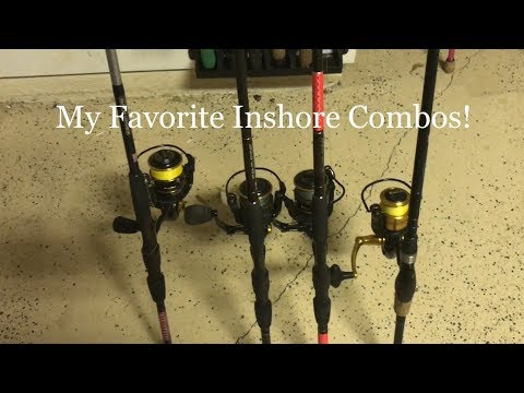 My Favorite Rod And Reels To Use Inshore Fishing For Redfish And Snook!
