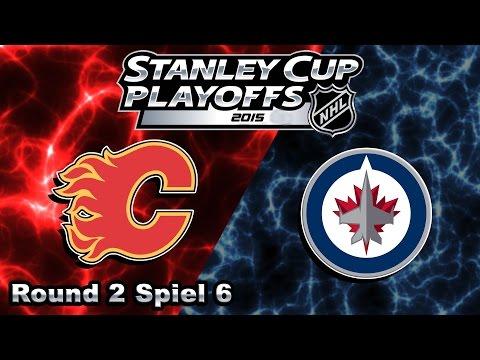 NHL [Playoffs Round 2] #107 - Winnipeg Jets - Calgary Flames ★ Let's Play NHL 15