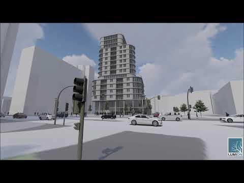 Kunstfach Visualisierung Variante 2 TU Dresden 5. Hauptentwurf Post-Lockdown-Living WiSe2020/21