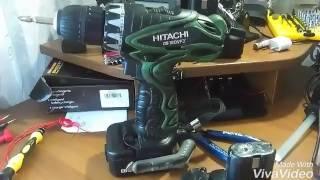 Қайта жасау батарея шуруповерта HITACHI арналған литий