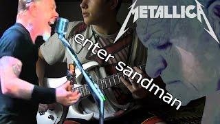 Риф Metallica - Enter Sandman(урок на гитаре)