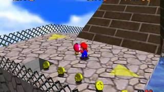 Super Mario 64 - Star Guide #18 - Shoot Into the Wild Blue