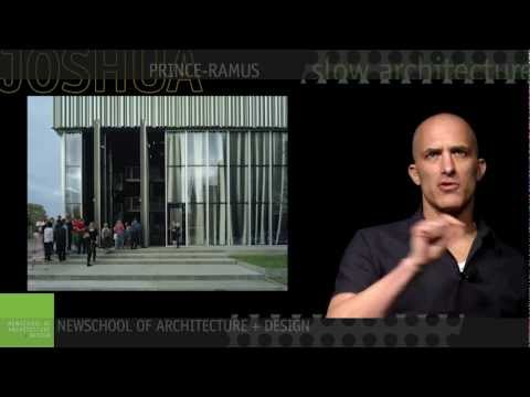 Joshua Prince-Ramus Lecture at NewSchool - YouTube