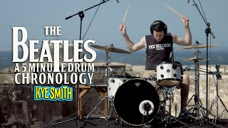 the beatles a 5 minute drum chronology kye smith 4k