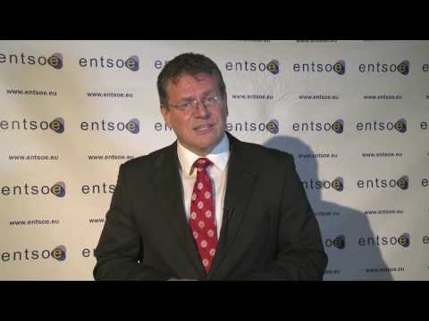 Interview of EU Commission Vice-President Maros Sevcovic at the ENTSO-E 2016 annual conference