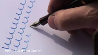 ① Peter Unbehauen: Cómo usar una Pluma Fuente - Fountain Pen