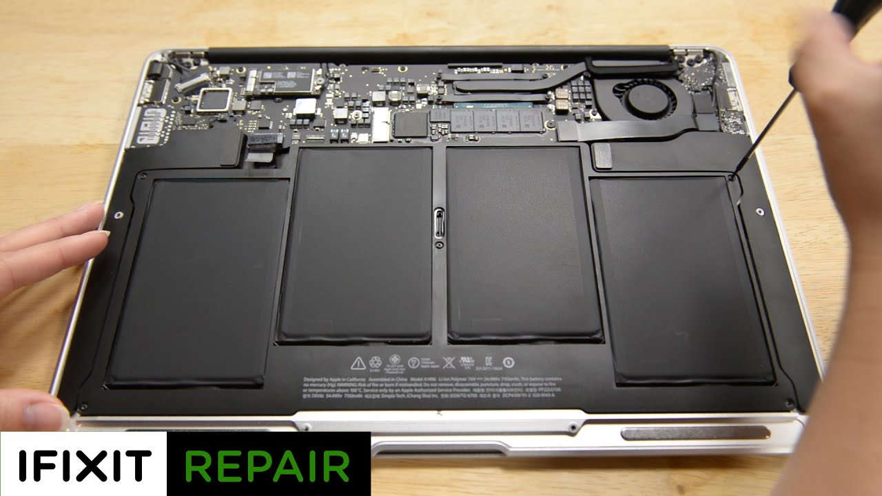 purchase cheap 45d30 d5984 How To: Replace the battery in your MacBook Air 13