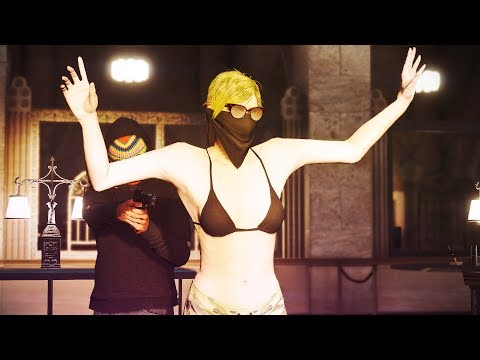 THEY TOOK HER HOSTAGE! (GTA 5 Online)
