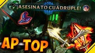 WARWICK AP DESTROZA, gameplay en TOP con rework   League Of Legends LOL