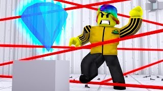 We Have to STEAL the 10 BILLION DOLLAR DIAMOND.. (Roblox Rob The Expensive Mansion)