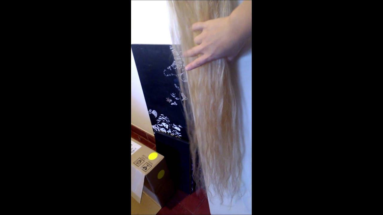 Extensiones de cabello 80 cm largo