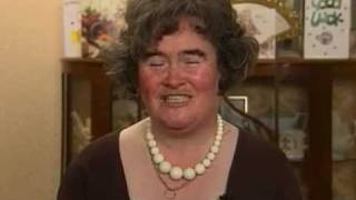 "Susan Boyle Sings New Song ""Whistle Down the Wind"""