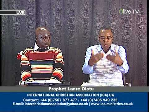 31st March 2015: Thy Kingdom come and the Nigerian Election. Part 2. Prophet Lanre Olotu.