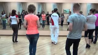 Открытый урок по Salsa от Chilli Dance Studio 3.11.2014