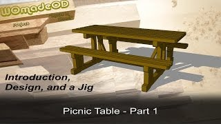 How To Build A Solid Picnic Table - Introduction