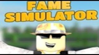 Roblox Fame Simulator | I Am Super Famous