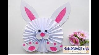 DIY : Пасхальный Кролик из Бумаги *** Поделки на ПАСХУ Своими Руками *** Paper Easter Bunny