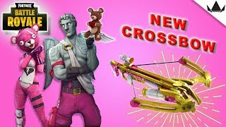 Fortnite Valentine's Update v2.4.2 | New Crossbow | New Skins | Xbox One