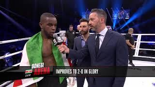 GLORY 64: Donegi Abena Post Fight Interview