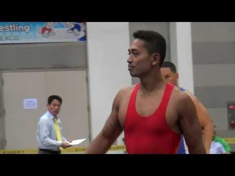 Freestyle Wrestling PIN - Venezuela v. Singapore