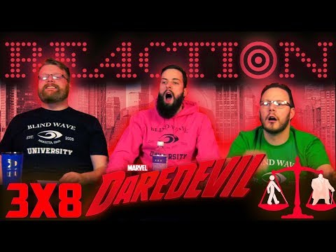 "DareDevil 3x8 REACTION!! ""Upstairs/Downstairs"""