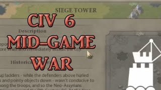 CIV 6 Strategy guide - Mid game war and support units