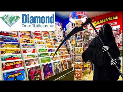 Diamond Comic Distributors SHUTS DOWN | Will DESTROY Comic Book Industry