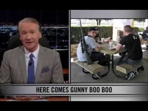 Real Time with Bill Maher: New Rules - Open Carry