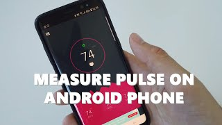 Heart rate monitor app - How to measure heart rate (pulse) on Android phone screenshot 1